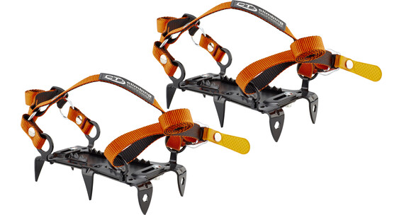 Climbing Technology Mini Crampon 6P - Crampons - orange/noir
